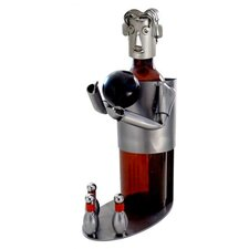 Bowler Wine Bottle Holder