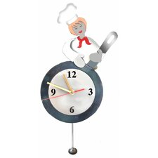 <strong>H & K SCULPTURES</strong> Chef Table Clock