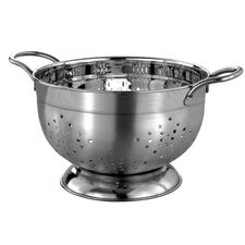 Professional Heavy Duty Stainless Steel German Colander with Wire Handles