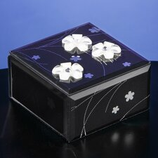 Midnight Elegance Glass Music Box