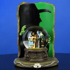 "The Wizard of Oz Four-Character Water Globe with ""Wicked Witch"" Silhouette"