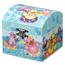 Rubber Ducky Musical Treasure Jewelry Box