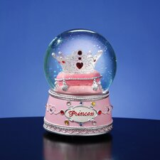 <strong>San Francisco Music Box</strong> Princess Crown Water Globe