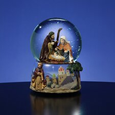 Magi Nativity Water Globe