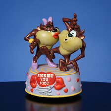 <strong>San Francisco Music Box</strong> Taz Kiss Me You Fool Musical Figurine