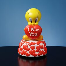 Tweety I Wuv You Figurine