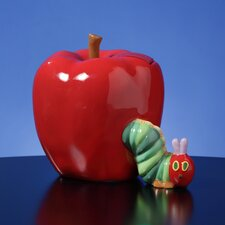 <strong>San Francisco Music Box</strong> The Very Hungry Caterpillar Musical Bank Figurine