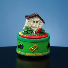 The Wizard of Oz House on Witch Feet Rotating Mini Figurine