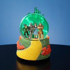 The Wizard of Oz Emerald City Lighted Water Globe