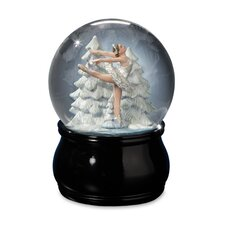 <strong>San Francisco Music Box</strong> Swan Lake Ballet Water Globe