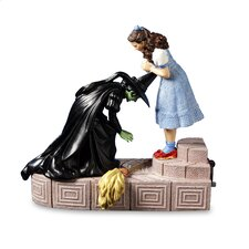 <strong>San Francisco Music Box</strong> The Wizard of Oz Wicked Witch with Dorothy Figurine