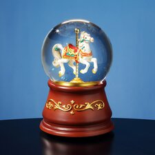 Heritage Rotating Single Horse Water Globe