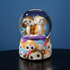 Jingle Jumbles Monkey Water Globe