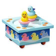 Twirlytunes Rubber Ducky Music Jewelry Box