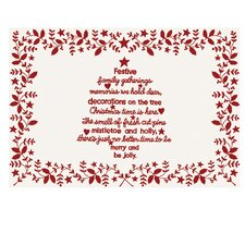 Christmas Time Placemat (Set of 4)