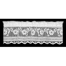 "Victorian Rose Insert 36"" Curtain Valance"
