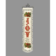 <strong>Heritage Lace</strong> Joy to the World Wall Decor