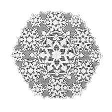 <strong>Heritage Lace</strong> Glisten Round Table Topper