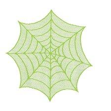 Spider Web Round Doily (Set of 2)