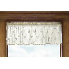 "Country Rooster 45"" Curtain Valance"