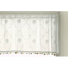 "Beach Trellis 42"" Curtain Valance"