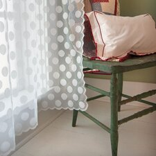 Polka Dot Rod Pocket Window Treatment Collection