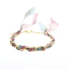 Silk Ribbon Cord Bracelet