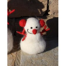 Wooly Snowman with Arms