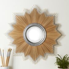 Natural Paintbrush Mirror