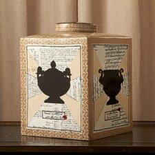 Via Santo Spirito Large Square Decorative Jar