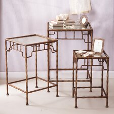 Golden Bamboo™ 3 Piece Nesting Tables