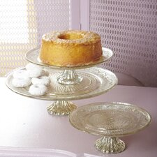 <strong>Two's Company</strong> Paris Left Bank Classique Pedestal Platter (Set of 3)