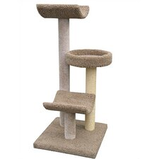 "54"" Bed and Cradle Cat Tree"