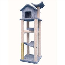 "76"" The Tree House Cat Tree"