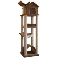 "<strong>Molly and Friends</strong> 86"" The Skyscraper Cat Tree"