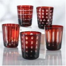 Hand-Etched Old Fashioned Glass (Set of 6)