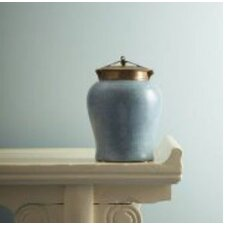 Shagreen Jar with Bronze Lid