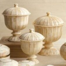 Zanzibar 3 Piece Decorative Urn Set