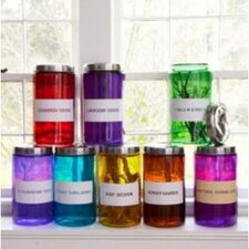 Dransfield and Ross Jars with Lids (Set of 8)