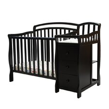 Casco 4 in 1 Mini Crib and Dressing Table Combo