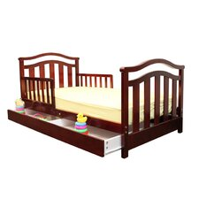 <strong>Dream On Me</strong> Elora Toddler Bed with Storage Drawer