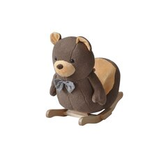 Bruin Bear Musical Rocker in Brown