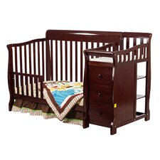 Brody 4-in-1 Convertible Crib and Changer Combo