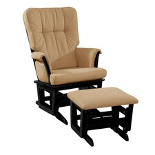 Windsor Padded Glider and Ottoman