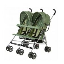 <strong>Dream On Me</strong> Twin Umbrella Stroller