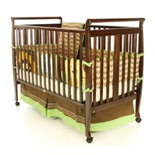 <strong>Dream On Me</strong> Bella Sleigh Convertible Crib