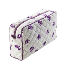 Harriet Purple Petal Wash Bag