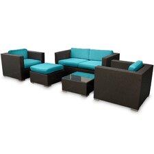 Malibu 5 Piece Seating Group with Cushions