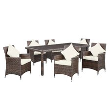 Vista 7 Piece Patio Dining Set with Cushions