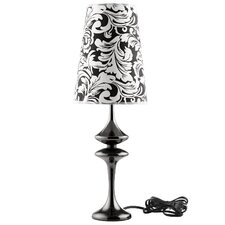 "Illusion 22.5"" H Table Lamp with Bell Shade"